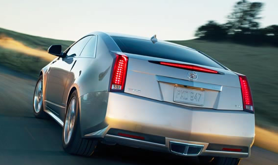 2013 Cadillac CTS Coupe, Back View., manufacturer, exterior