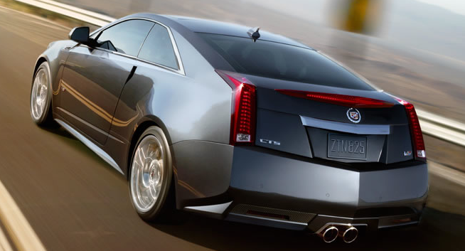 2013 cadillac cts v coupe back quarter view exterior manufacturer. Cars Review. Best American Auto & Cars Review