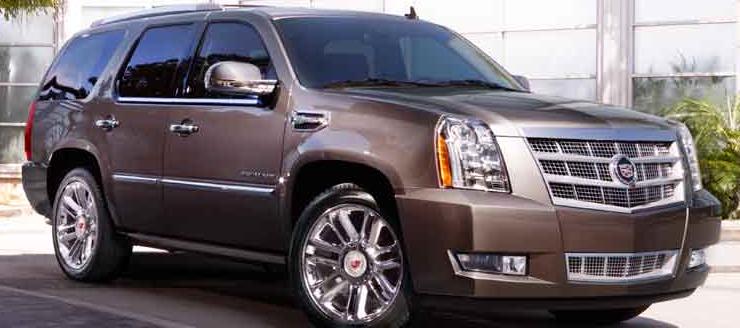 2013 Cadillac Escalade, Front quarter view., exterior, manufacturer