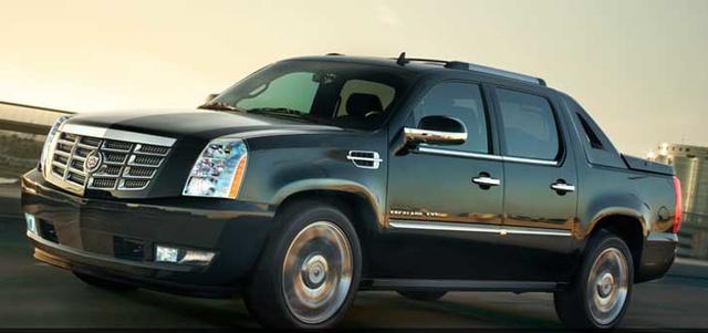 2013 Cadillac Escalade EXT, Front quarter view, exterior, manufacturer