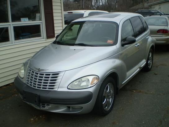 2001 chrysler pt cruiser limited silver with black bumpers exterior. Cars Review. Best American Auto & Cars Review