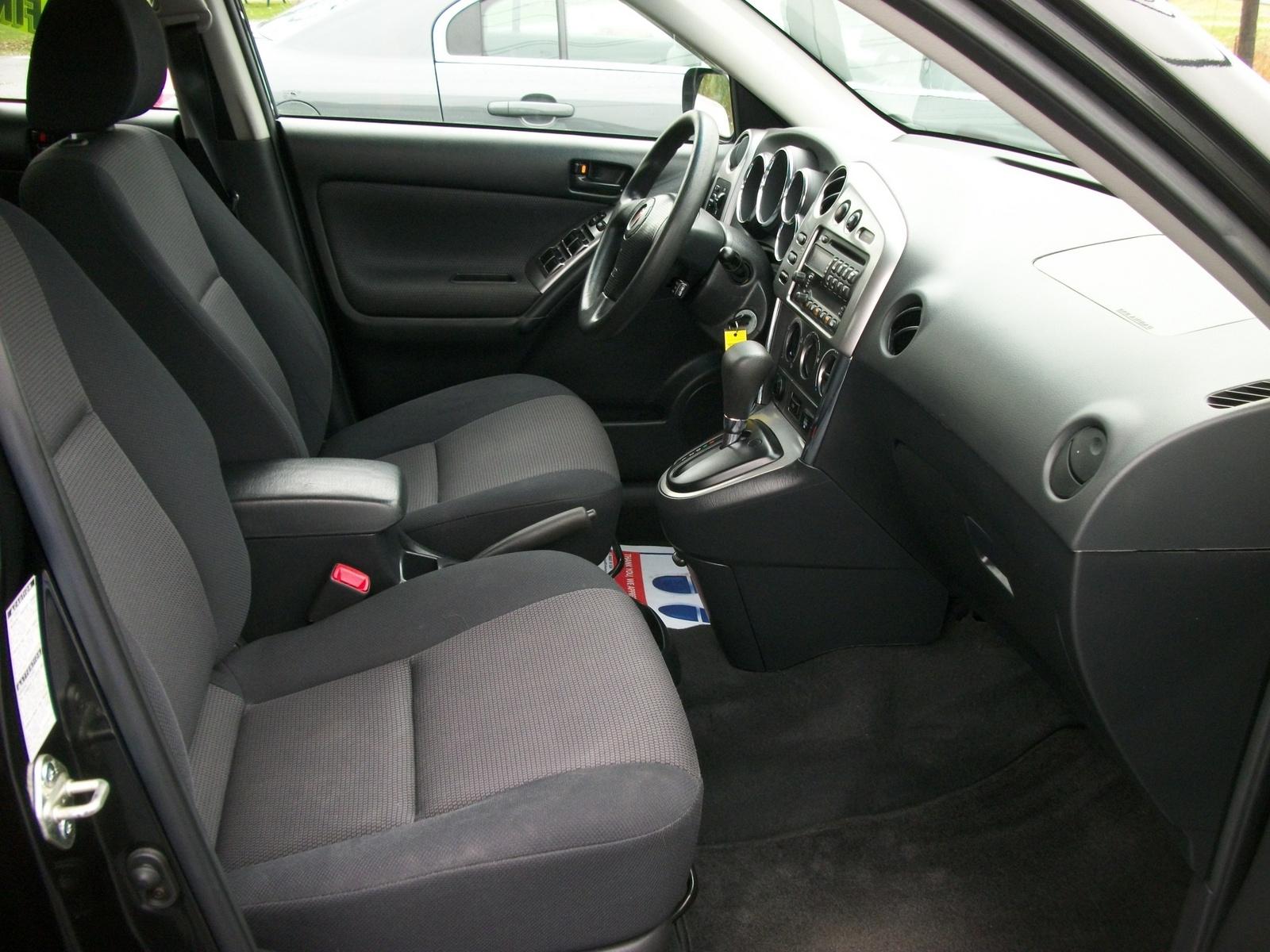 2005 Pontiac Vibe Interior Pictures Cargurus