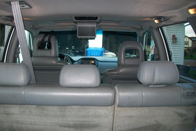 2005 honda pilot - interior pictures
