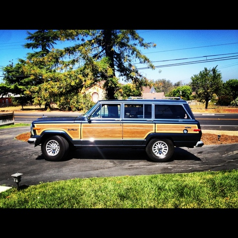 1991 Jeep Grand Wagoneer 4 Dr STD 4WD SUV, Final Edition 1991 Jeep Grand Wagoneer - aka Maggie the Waggy!, exterior