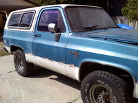 1985 Chevrolet Blazer, 1985 K5 before I got her running again, exterior