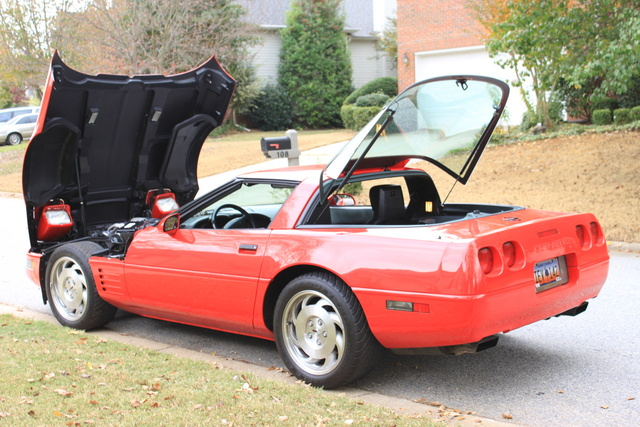 Picture of 1993 Chevrolet Corvette Coupe, exterior, gallery_worthy