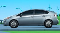 2012 Toyota Prius Plug-in, Side View., exterior, manufacturer