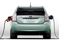 2012 Toyota Prius Plug-in, Back View., manufacturer, exterior