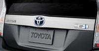 2012 Toyota Prius Plug-in, Bumper, exterior, manufacturer
