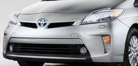 2012 Toyota Prius Plug-in, Hood., exterior, manufacturer