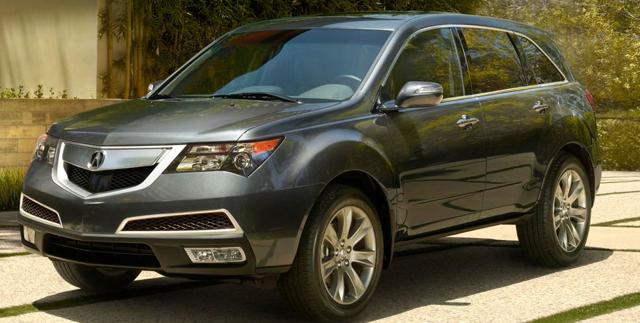 2013 Acura MDX, Front quarter view., exterior, manufacturer