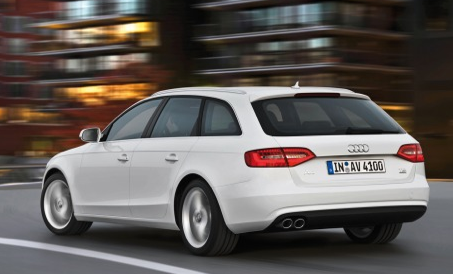 2013 Audi A4, Back quarter view., exterior, manufacturer
