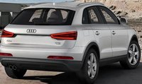 2013 Audi Q3, Back quarter view, exterior, manufacturer