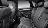 2013 Audi Q3, Back Seat., interior, manufacturer