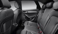 2013 Audi Q3, Back Seat., manufacturer, interior