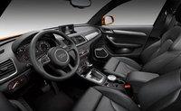 2013 Audi Q3, Front Seat., interior, manufacturer