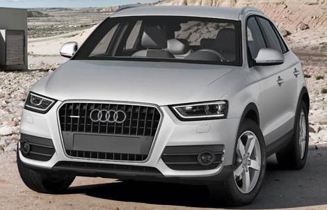 2013 Audi Q3, Front quarter view, exterior, manufacturer