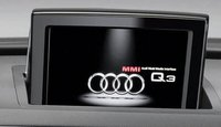 2013 Audi Q3, Navigation Screen., interior, manufacturer