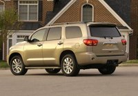 2013 Toyota Sequoia, Back quarter view copyright AOL Autos., manufacturer, exterior