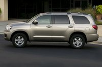 2013 Toyota Sequoia, Side View copyright AOL Autos., exterior, manufacturer