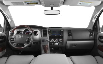 2013 Toyota Sequoia, Front Seat copyright AOL Autos., exterior, interior, manufacturer, gallery_worthy