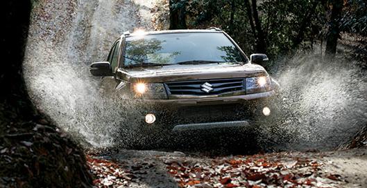 2013 Suzuki Grand Vitara, Front quarter view., exterior, manufacturer