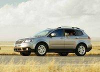 2013 Subaru Tribeca, Fornt quarter view., exterior, manufacturer