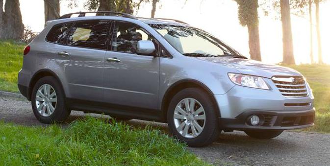 2013 Subaru Tribeca, Front quarter view., exterior, manufacturer