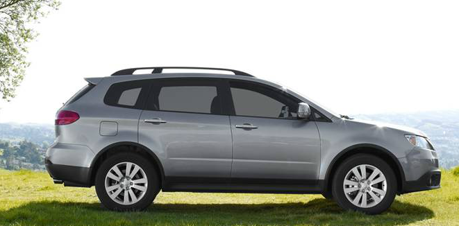 2013 Subaru Tribeca, Side View., manufacturer, exterior