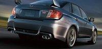 2013 Subaru Impreza WRX STi, Back quarter view., exterior, manufacturer