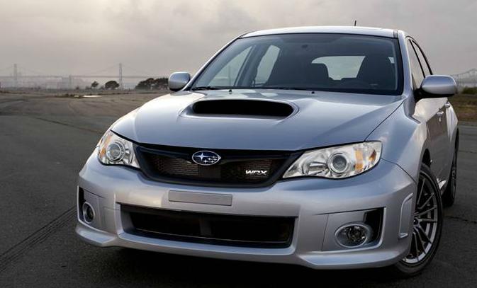 2013 Subaru Impreza WRX STi, Front View, exterior, manufacturer