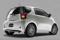 2013 Scion iQ, Back quarter view copyright AOL Autos., manufacturer, exterior