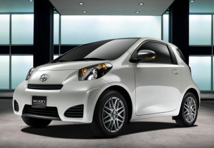 2013 Scion iQ, Front quarter view copyright AOL Autos., manufacturer, exterior