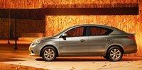 2013 Nissan Versa, Side View., exterior, manufacturer