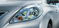 2013 Nissan Versa, Headlight., exterior, manufacturer, gallery_worthy