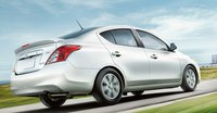 2013 Nissan Versa, Back quarter view., exterior, manufacturer, gallery_worthy