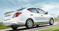 2013 Nissan Versa, Back quarter view., exterior, manufacturer