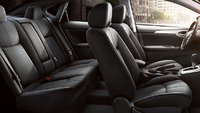 2013 Nissan Sentra, Front and back seat., interior, manufacturer