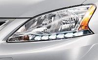 2013 Nissan Sentra, Headlight., exterior, manufacturer