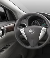 2013 Nissan Sentra, Steering Wheel., interior, manufacturer