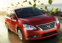 2013 Nissan Sentra, Front quarter view., exterior, manufacturer, gallery_worthy