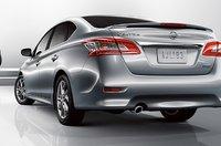2013 Nissan Sentra, Back quarter view., exterior, manufacturer
