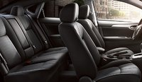 2013 Nissan Sentra, Front and back seat., manufacturer, interior