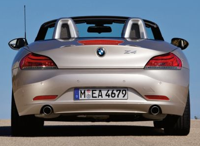 2013 BMW Z4, Back View copyright AOL Autos., manufacturer, exterior