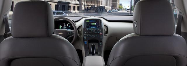 2013 Chevrolet Volt, Back Seat View., exterior, manufacturer
