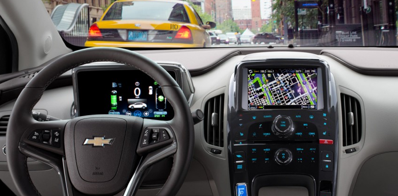 2013 Chevrolet Volt, Front Seat., exterior, manufacturer