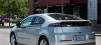 2013 Chevrolet Volt, Back quarter view., exterior, manufacturer, gallery_worthy