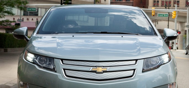 2013 Chevrolet Volt, Front View., exterior, manufacturer