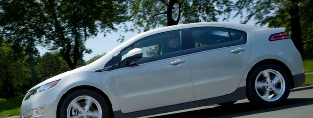 2013 Chevrolet Volt, Side View., exterior, manufacturer