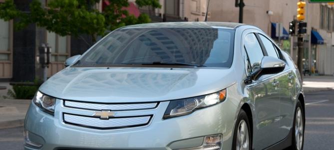 2013 Chevrolet Volt, Front quarter view., exterior, manufacturer